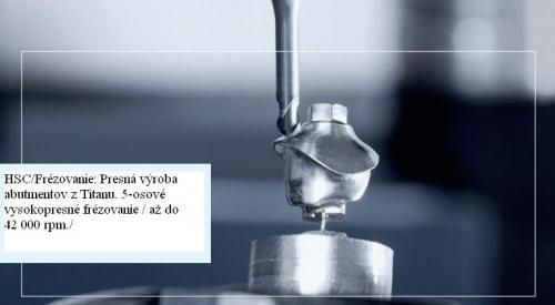 Náčrt frézovania prístrojom Yenemac.